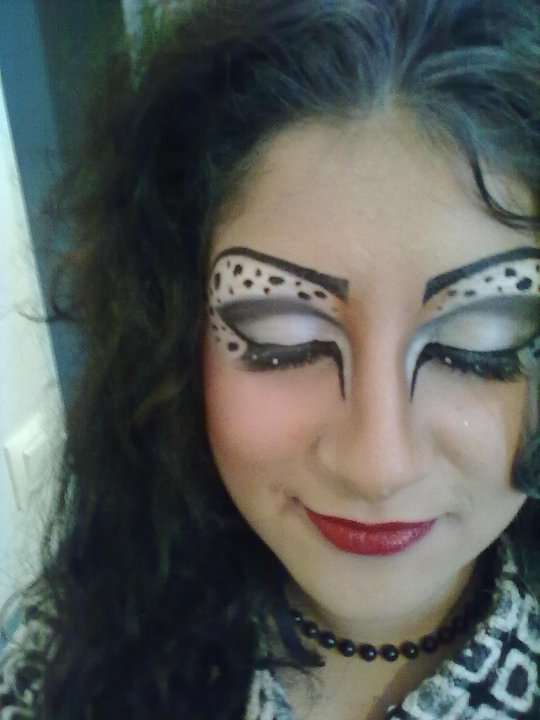 Maquillage Halloween Cruella Denfer Zombie Blog De Upalex Make picture