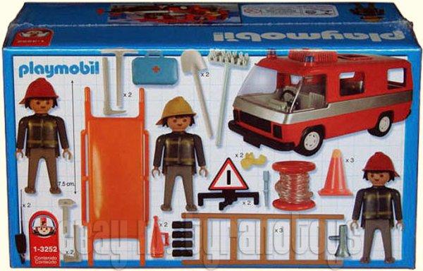 camion de pompier playmobil. Black Bedroom Furniture Sets. Home Design Ideas