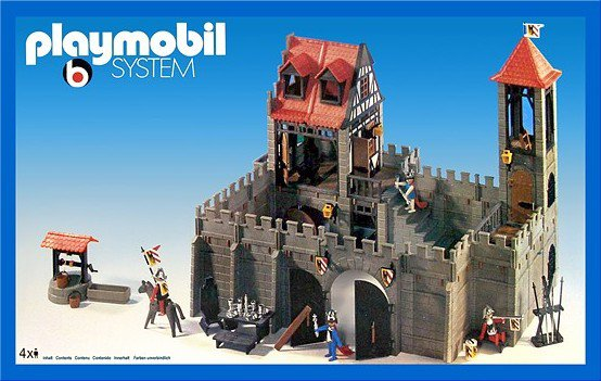 04 chateau forteresse 3450 ch teau photo archive for Plan chateau fort playmobil
