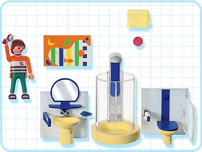 9a maison moderne interieur 3969 salle de bains moderne for Salle de bain villa moderne playmobil
