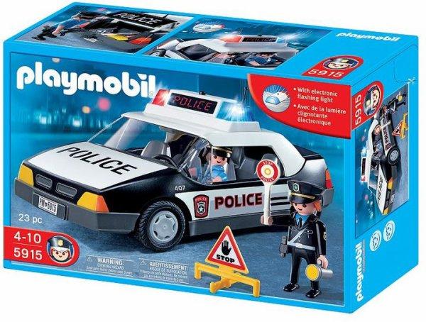 24e policiers international 5915 voiture de police us photo archive article playmobil. Black Bedroom Furniture Sets. Home Design Ideas