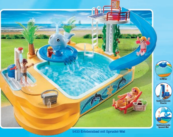Quelques liens utiles for Piscine de playmobil