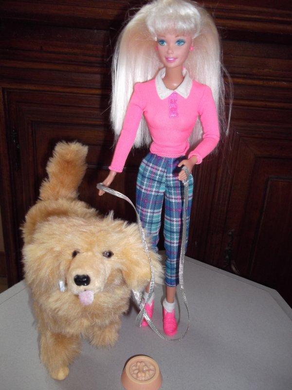 Barbie mes poup es - Barbie et son chien ...