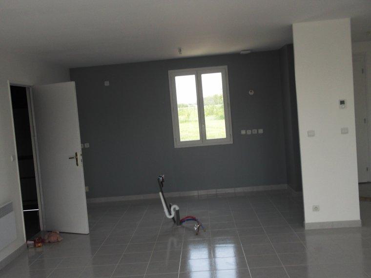 peinture salon blanc et gris de maison penix page phnix - Salon Gris Galet